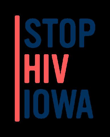 Stop HIV Iowa logo