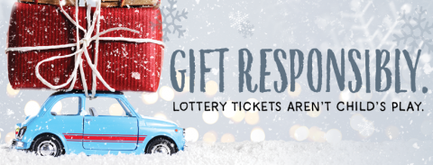 Gift responsibly- car with gift on the top